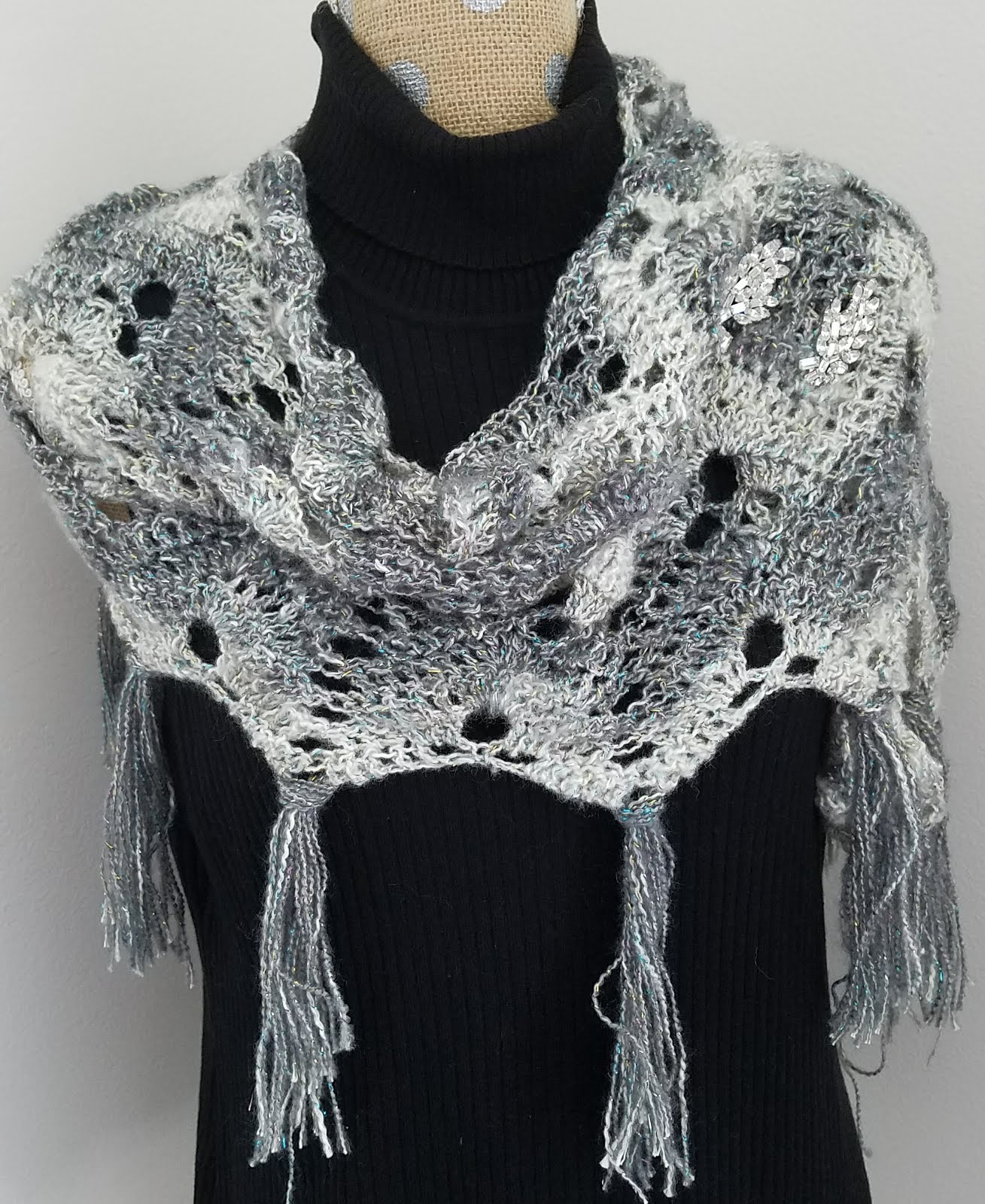Ice and Snow Shawlette