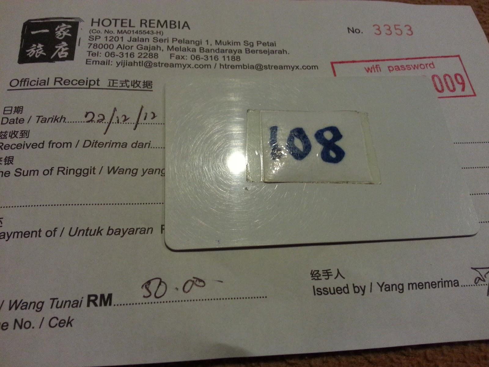 Deposit RM50 Yang Akan Dikembalikan Sewaktu Daftar Keluar