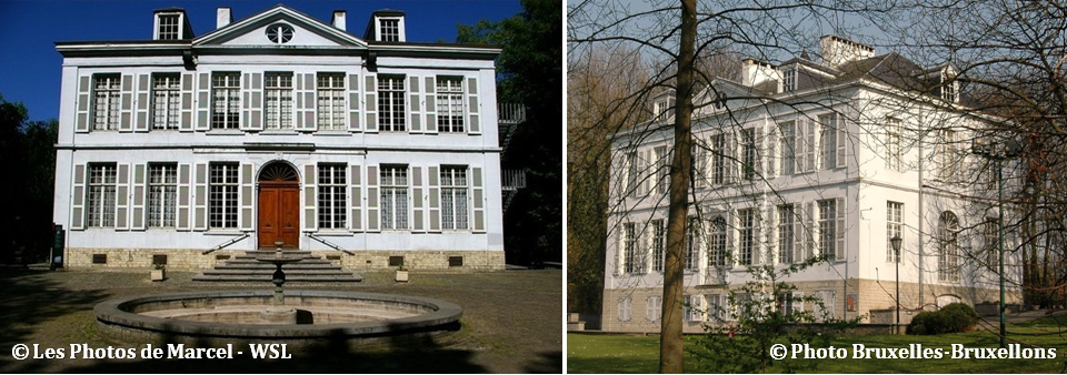 Château Malou - Woluwe-Saint-Lambert - Une histoire tumultueuse - Du haut de ces fenêtres, deux siècles vous contemplent - Bruxelles-Bruxellons