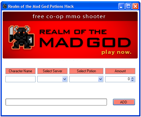 cant open realm of the mad god how to fix