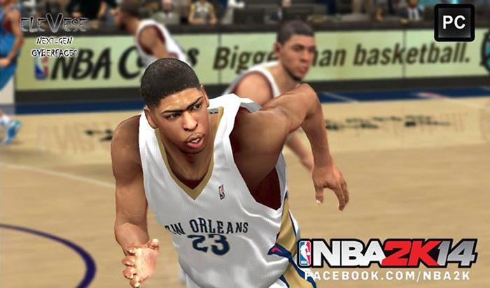 NBA 2K14 Anthony Davis Cyberface Mod (Next-Gen) Nba2k14-nextgen-pc-mod-anthony-davis-cf