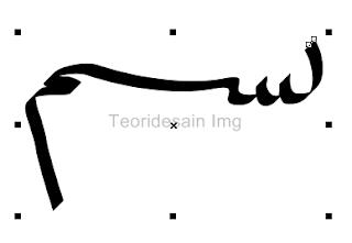 Fungsi pena calligraphic untuk membat Media artistik 2