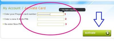 cara dalam pengaktifan kartu payoneer