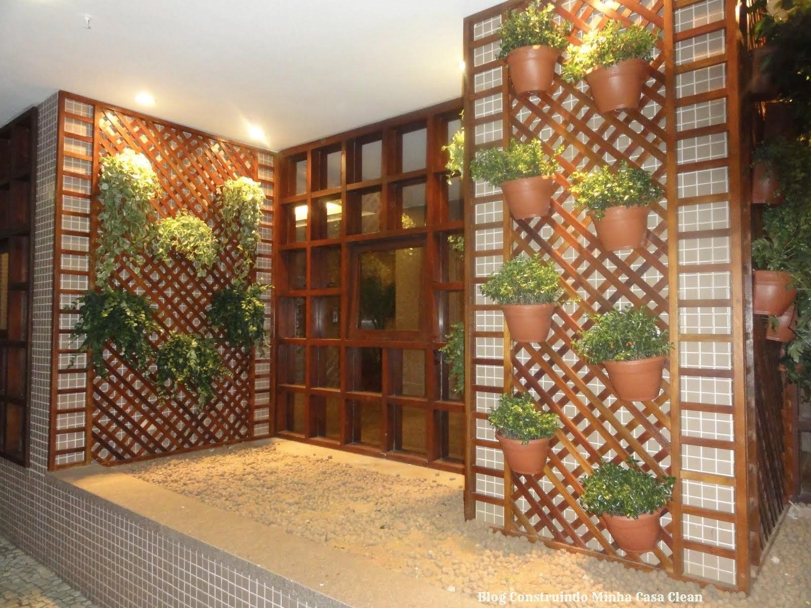 Construindo Minha Casa Clean: 22 Jardins Verticais Maravilhosos! Veja  #9B8E30 1600x1200 Banheiro Com Jardim Vertical