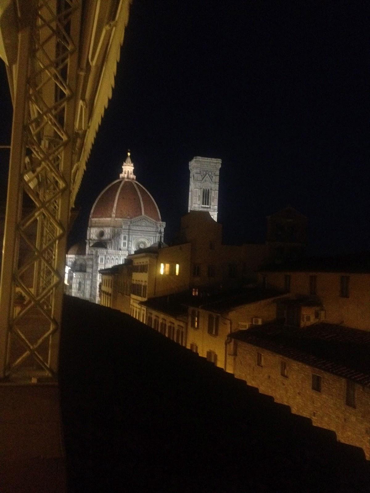 Io Amo Firenze: Aperitivo sulla terrazza dell\'Hotel Laurus