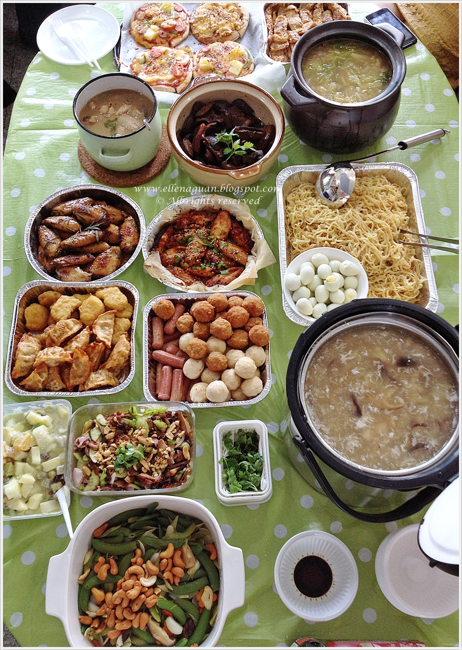 Cuisine paradise singapore food blog recipes reviews and travel with recipes lunar new year lunch gathering with relatives forumfinder Image collections