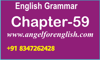 Chapter-59 English Grammar In Gujarati-DEGREE - Angel for English