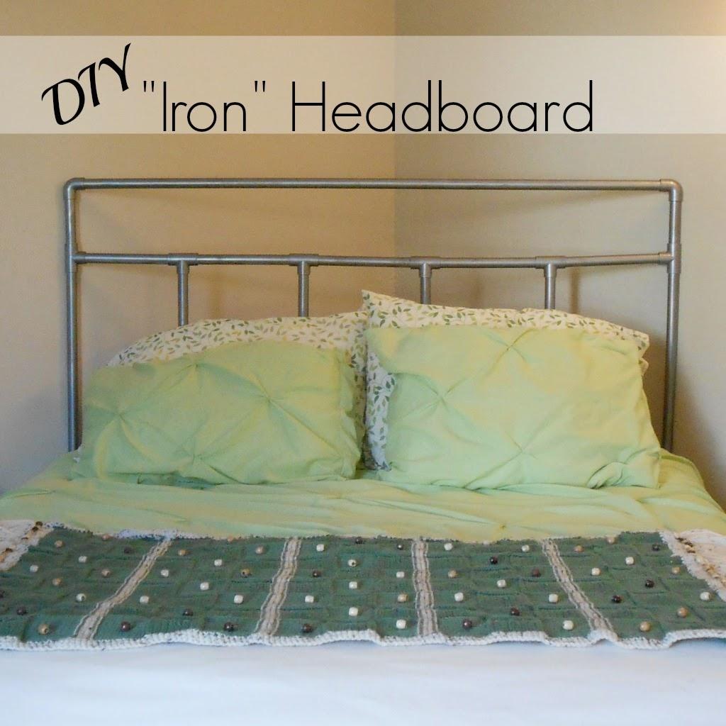 Beyond The Cookie Cutter Iron Headboard Trickery