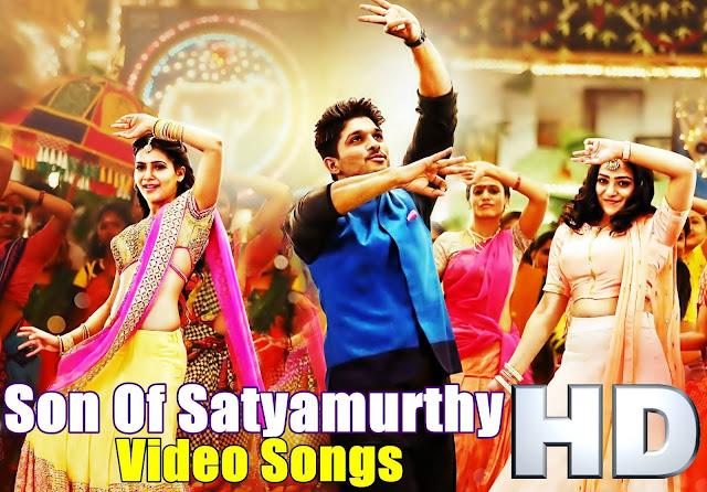 S/O Satyamurthy Full Video Songs HD | Allu Arjun | Samantha | Nithtya Menon | Sneha | Trivikram