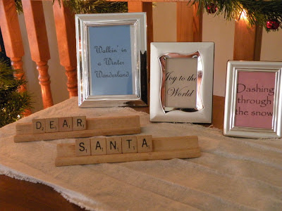 Scrabble Tile Christmas Decor