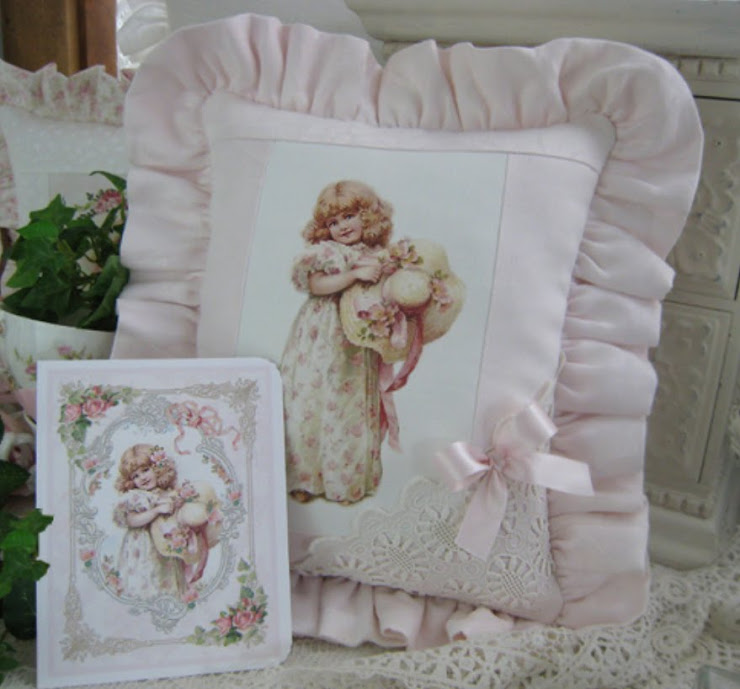 Cuscino elegante (cotone FIANDRA) + Carta