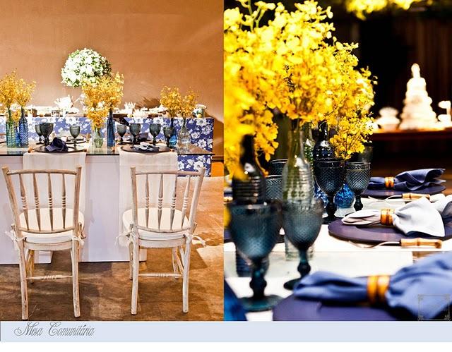 decoracao azul e amarelo casamento : decoracao azul e amarelo casamento:Azul + Amarelo