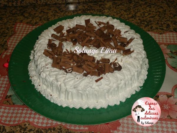 receita em video: bolo confeitado
