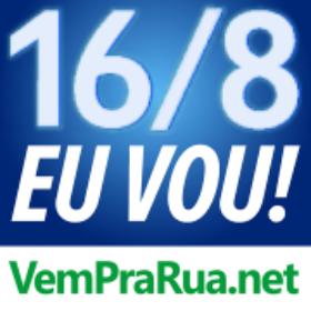 foto azul com logotipo de letra branca