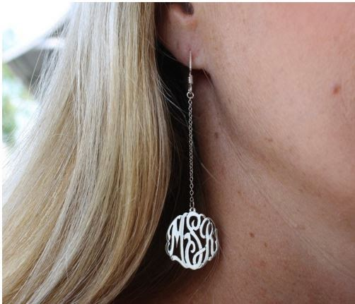 custom silver filigree earrings