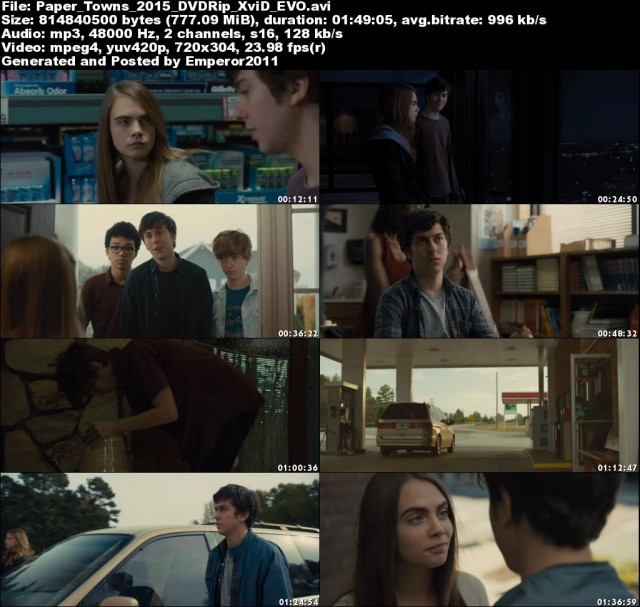 Download Paper Towns 2015