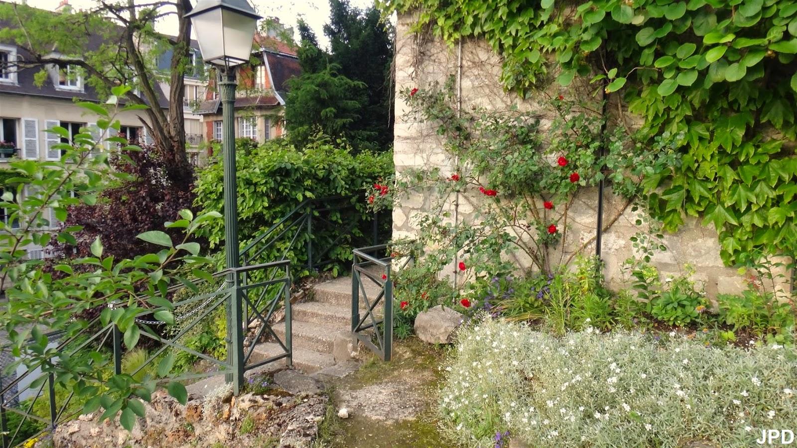 Paris bise art jardin sauvage saint vincent - Le jardin sauvage maintenay montpellier ...
