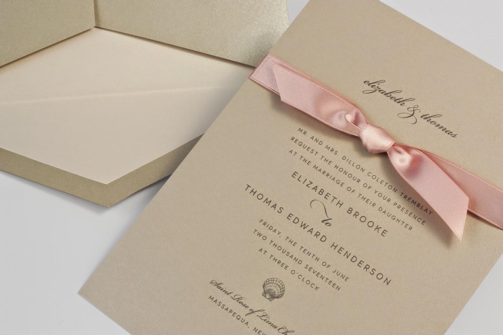 William Arthur Blog: Delightful New Wedding Invitation Designs for ...