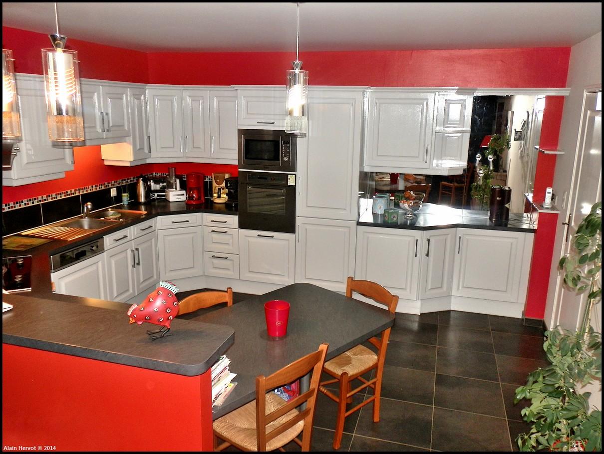 ambiances bois patines cuisine relook e gris l ger. Black Bedroom Furniture Sets. Home Design Ideas