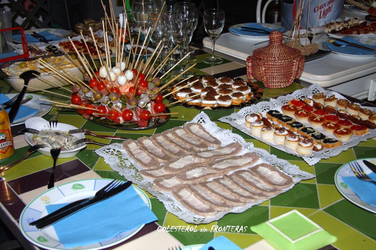 Colesterol sin fronteras ideas para una cena fria for Ideas para una cena de picoteo