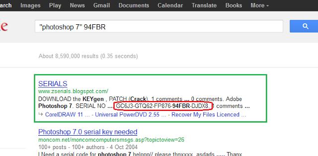 google%2Btrick%2Bto%2Bfind%2Bserial%2Bkey
