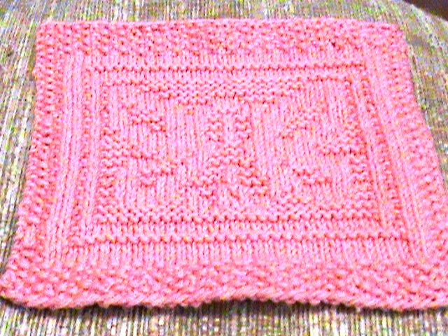 Free Knitting Pattern Butterfly Dishcloth : Aunt Kathys Place- My Original Patterns: Butterfly Of Hope