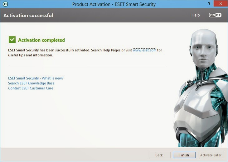 Download ESET Smart Security 8 dan ESET NOD32 Antivirus 8 Final