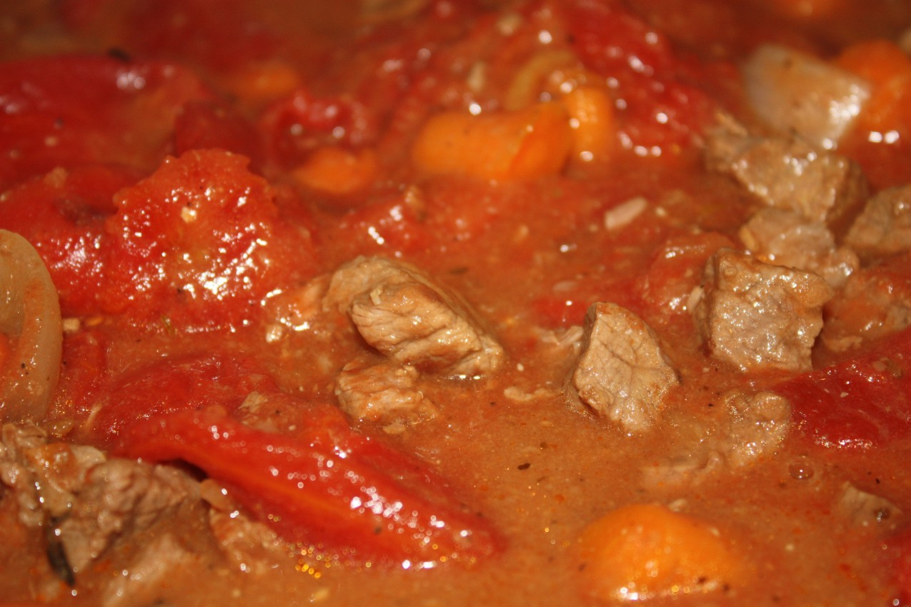 pass the peas, please: french beef stew