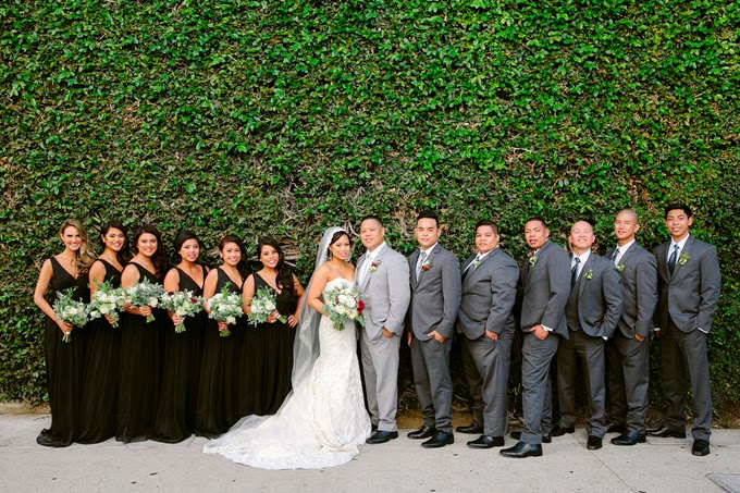 Classic California Real Wedding