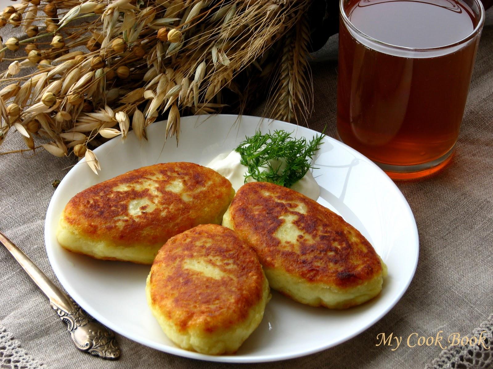 Картофельные зразы с вареным мясом пошаговый рецепт