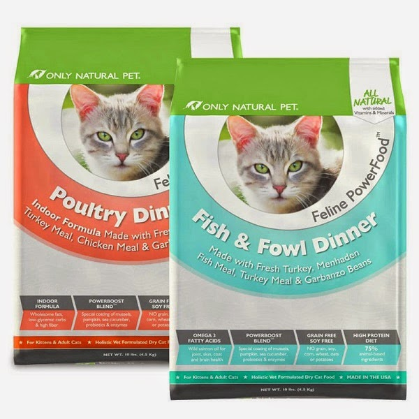 Only Natural Pet Feline Powerboost Dry Cat Food #pawnatural