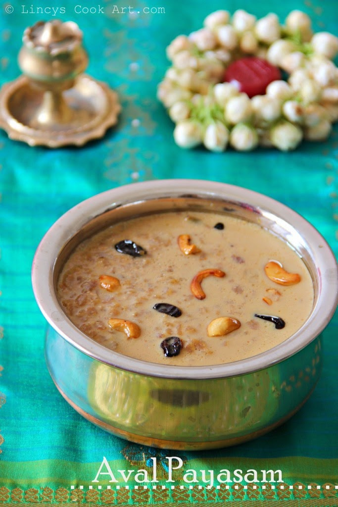 Red Aval Payasam