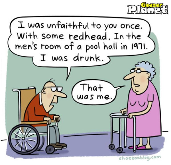Funny Old People Jokes More Funny Messages Old Age Ecards: Funny Elderly Couple Cartoons