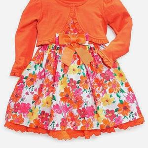 Floral Dress Set
