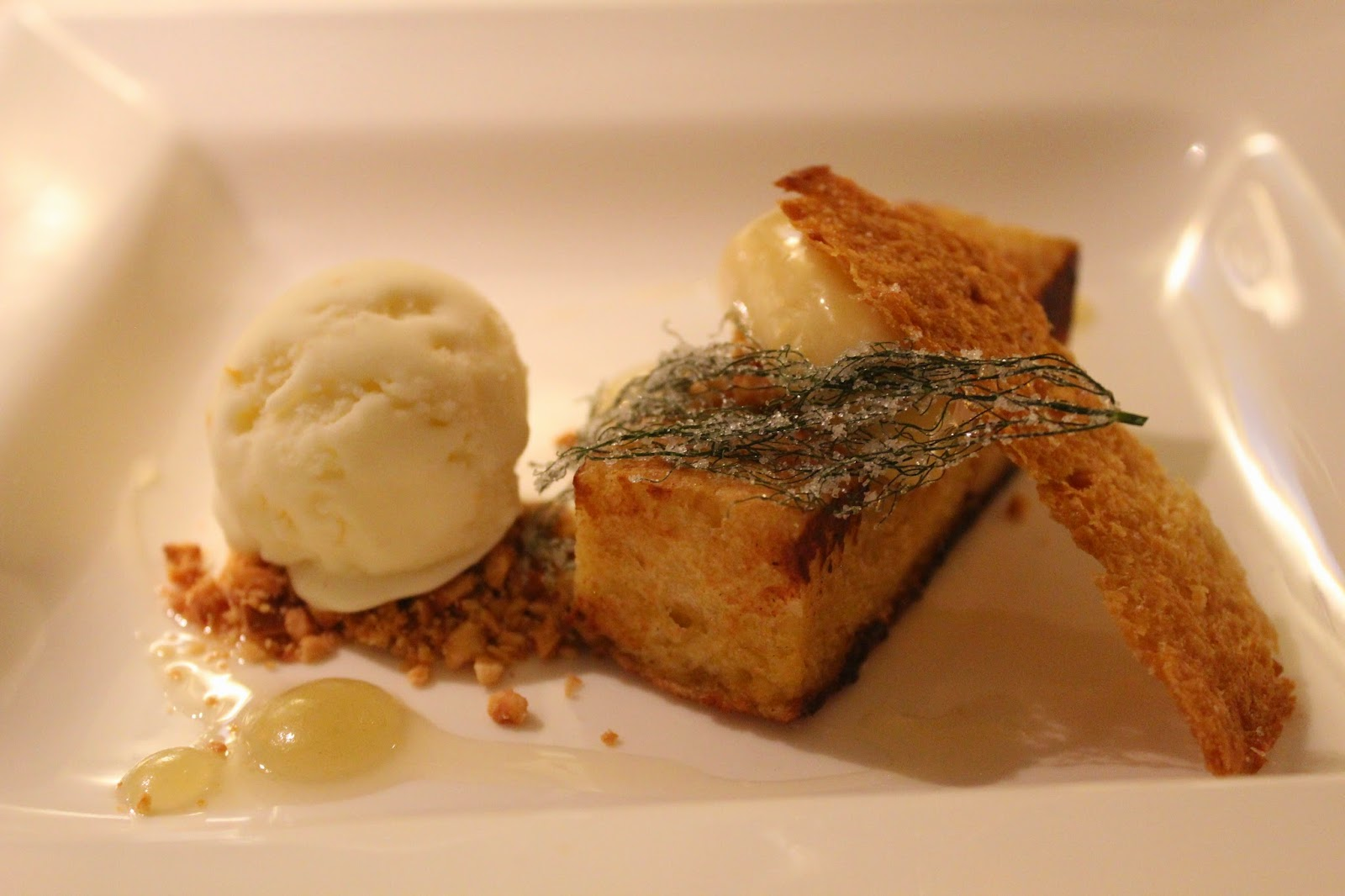 Hazelnut Pain Perdu by Brian Mercury of Harvest