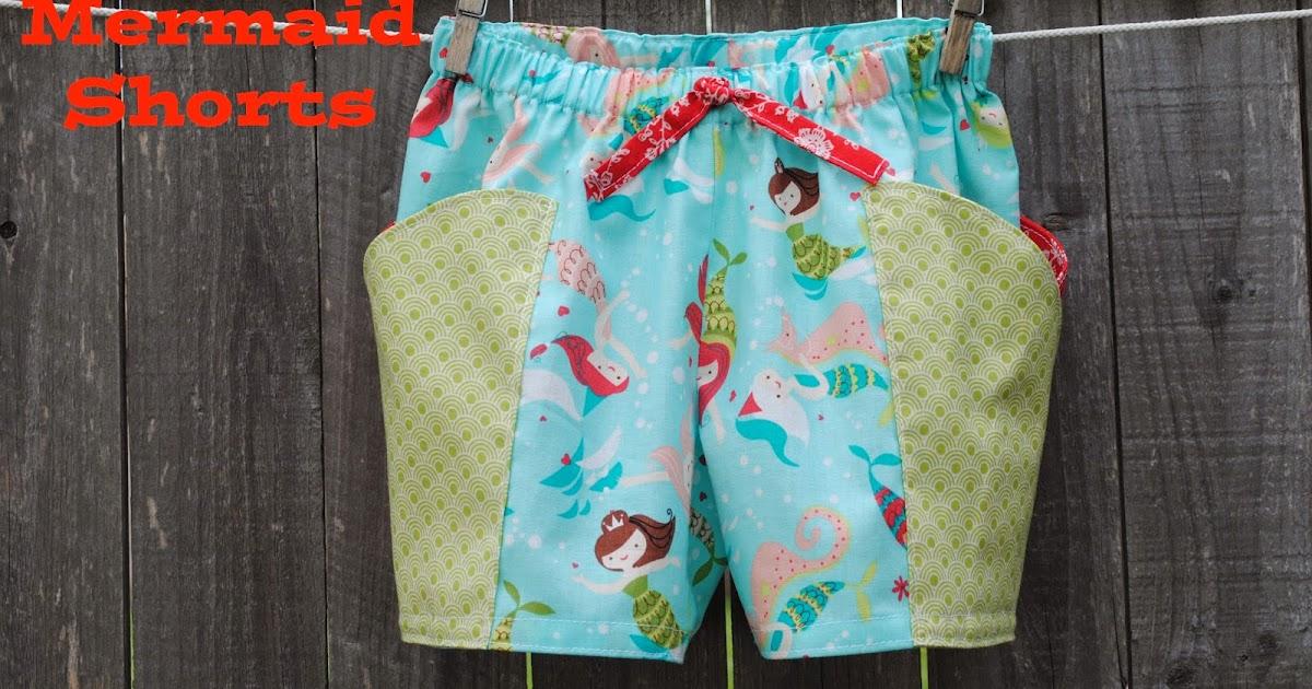 Milostones Creates Mermaid Shorts
