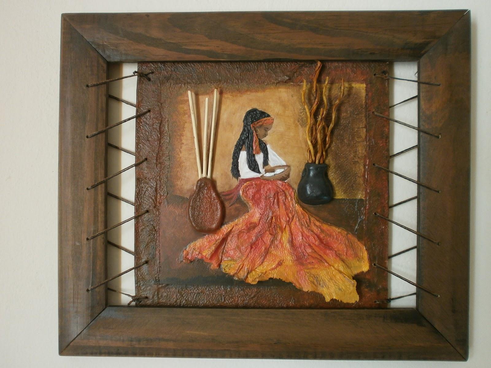 Arte y sur cuadros con relieve - Cuadros para dormitorios rusticos ...