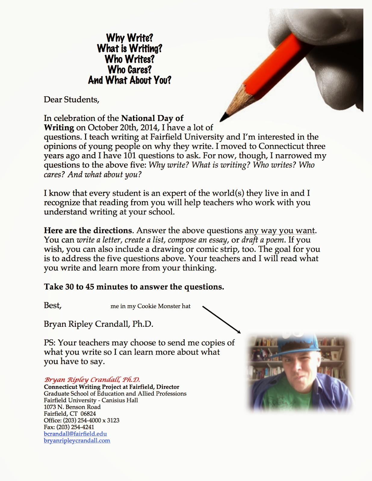 fairfield university cover letter