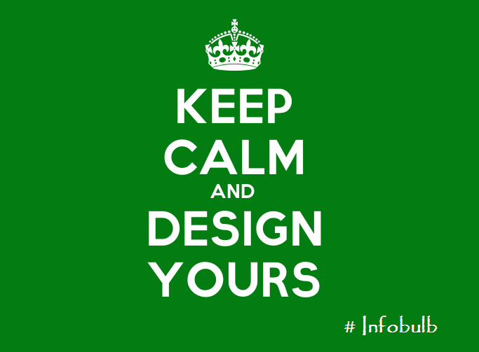 Design Your Own 'Keep Calm and..' Posters