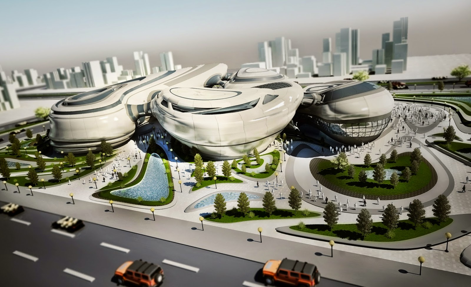 Space race museum islam fikry abbas architecture for Importance of space in architecture