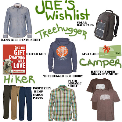 Joe's Wishlist - The Dude's Wishlist
