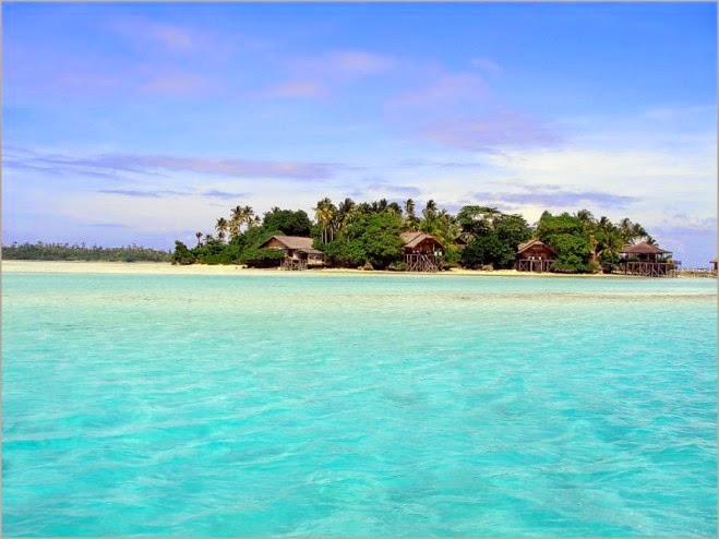 Pulau derawan east kalimantan