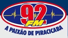 Rádio 92 FM da Cidade de Piracicaba e  Águas da Cidade de São Pedro ao vivo