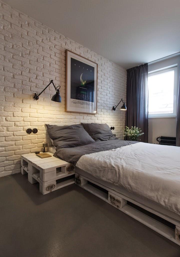 Mi rinc n de sue os muebles hechos con palets en un - Dormitorios con palets ...