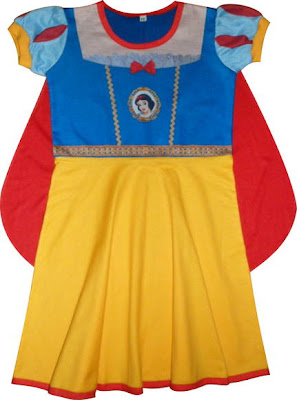 Fantasias da Branca de Neve Infantil