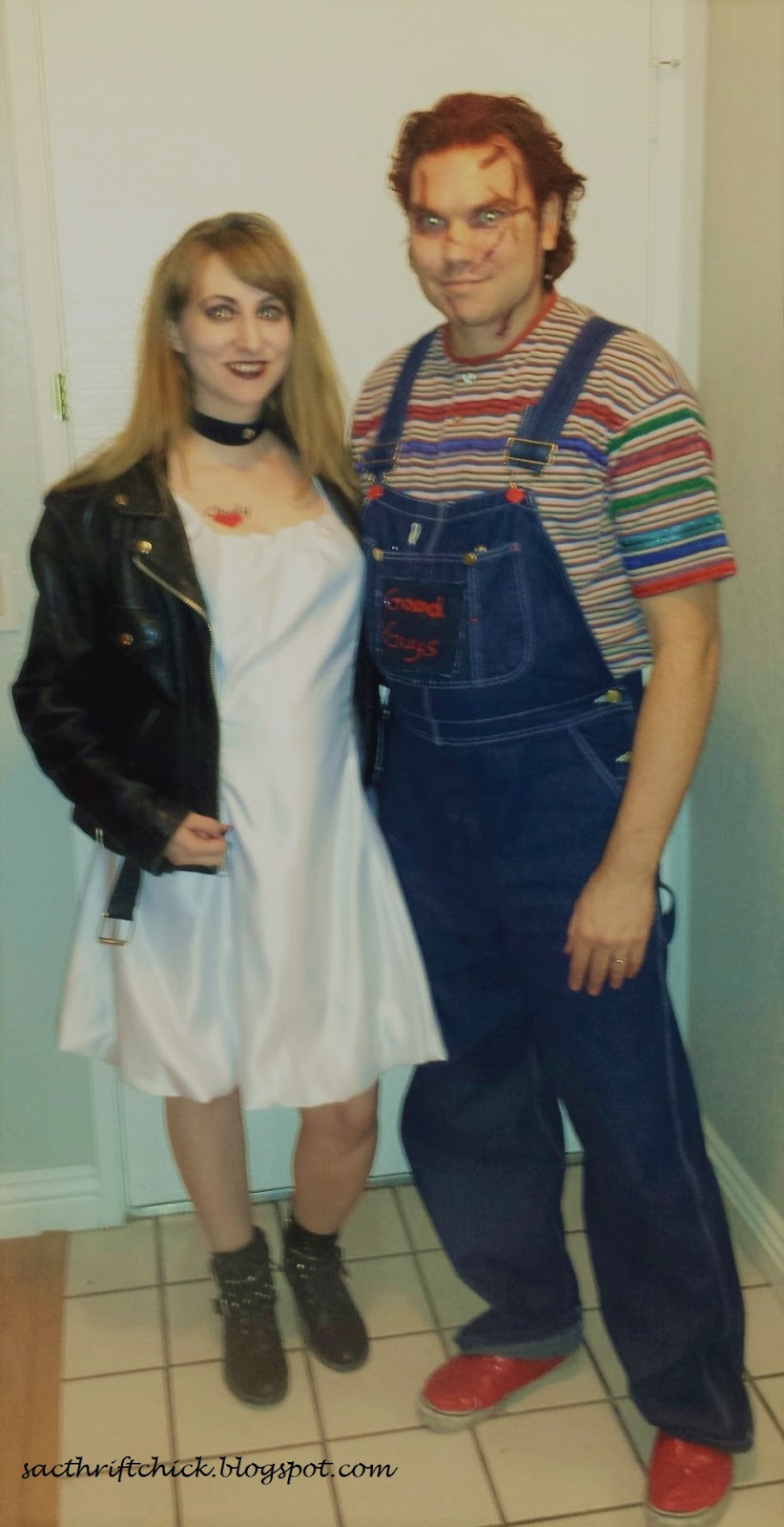 diy bride of chucky halloween costumes | ❈sac thrift chick❈