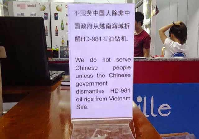 images975083 f3dnochina4 An Burgeoning Trend of Not Serving Chinese Nationals In Nha Trang Is Despicable