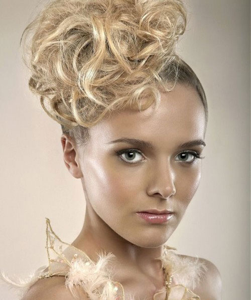 New Year S Eve Hairstyles for Short Hair Updos View Image