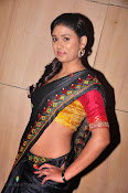 Actress Maneesha Photos in Saree-thumbnail-5