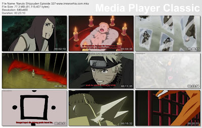 "Download Film / Anime Naruto Episode 327 ""Kyuubi"" Shippuden Bahasa Indonesia"